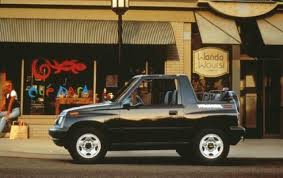 1998 Chevrolet Tracker - Information and photos - ZombieDrive