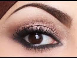 quick easy natural smokey eyes