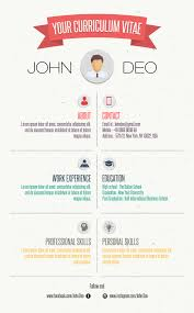 Free Infographic Resume Templates Your CurriculumVitae Free Resume Template [Infographic Template 43
