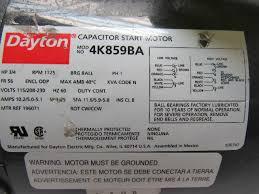 dayton 4k859ba 3 4hp electric
