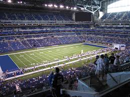 Lucas Oil Stadium Kenny Chesney Concert Seating Chart Lucas Oil Stadium View From Loge Level 445 Vivid Seats
