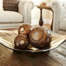 Decorative Bowls With Balls Cool Decorative Bowl And Ball Set Gorgeous Metal Gold Sunburst Decorative