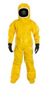Encapsulated Hazmat Suit