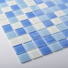 tst crystal glass tiles blue glass