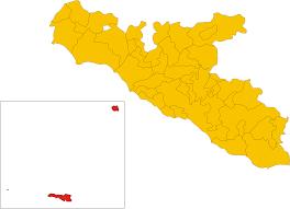 Figuramap Of Comune Of Lampedusa E Linosa Province Of Agrigento
