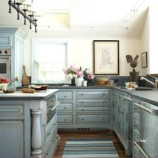 blue kitchens with white cabinets glazed kitchen and light walls32 with
