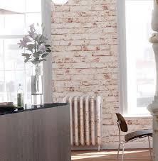 Shabby chic brickwork