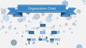 Prezi Org Chart Template Organization Chart Blue By Prezi Templates