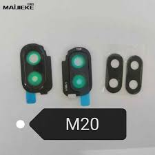 Traffic Light Glass Lenses For Sale 2 Set Rear Camera Glass Lens Replacement For Samsung Galaxy M20 M30 Back Camera Glass Lens Frame Black