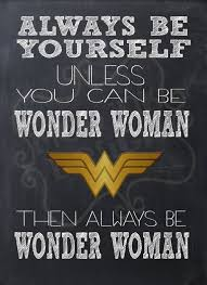 Wonder Woman Quotes Mesmerizing Always Be Wonder Woman Instant Download Art Print Quotes