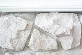 how to whitewash stone diy fireplace makeover