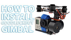 dji phantom goodluckbuy gimbal setup installation tutorial