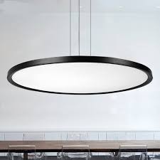office hanging lights. Ring LED Hanging Lamp Pendant Lights Thin Circular Dining-room Modern Minimalist Living Room Neso Office O