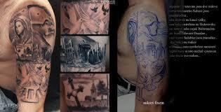 Tetování Anděl A Holubice
