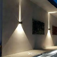 outdoor wall light dusk to dawn sensor led up down waterproof white