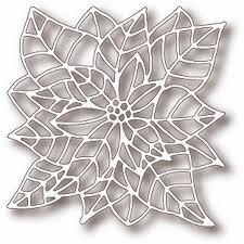 Poinsettia Designs Tutti Designs Cutting Die Poinsettia