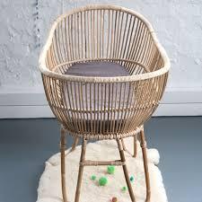 rattan cane crib