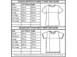Gildan Softstyle T Shirt Size Chart Rldm