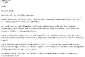 Cover Letter Software Engineer Entry Level Entry Level Java Developer Cover Letter Mockatoo Com