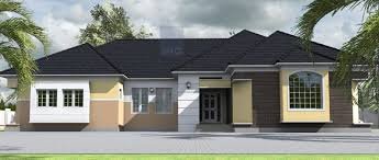 bedroom house plans nigeria residential homes and public cost of building in ia contemporary nigerian architecture