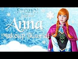 kittiesmama princess anna makeup tutorial disney s frozen cosplay transformation