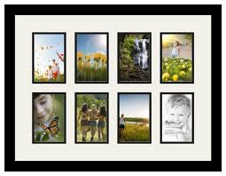 arttoframes collage photo frame with 8 openings contemporary picture frames by arttoframes
