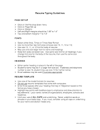 Career Fair Resume Template