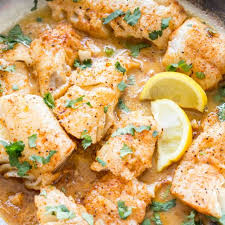 ered cod fish in skillet video