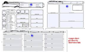 dungeons and dragons character sheet online dungeons and dragons 5e character sheet editable printable