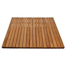 arb teak u0026 specialties 36 in x 48 bathroom shower mat in natural teak shower mat78