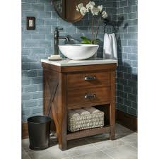 single vessel sink bathroom vanities. Style Selections Cromlee Bark Vessel Single Sink Poplar Bathroom Truly Check Out All These Small Vanities H