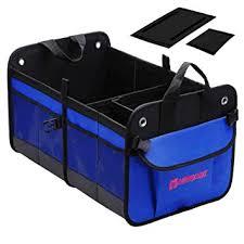 Autoark Multipurpose <b>Car</b> SUV <b>Trunk Organizer</b>,Durable Collapsible ...