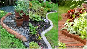Garden Border Ideas Simple And Cheap Edging For Your Increase The Beauty Of  Lawn By Adding