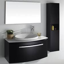 ... Large Size of Bathroom Vanities:amazing Bathroom Floating Vanity Height  With Standard Regard To Measurements ...