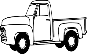 pickup truck coloring pages. Fine Pickup Pickup Truck Coloring Pages 95 With To L