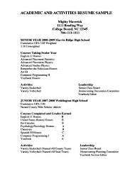 Academic Resume Best Academic Resume For College Exol Gbabogados Co Writing