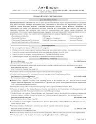 Sample Resume Format For Hr Executive Resume Template Ideas