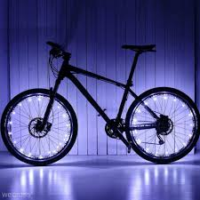 Waterproof <b>Colorful</b> 20 LED <b>Bicycle Lights Bike Lamp</b> Cycling Wheel ...