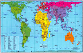 Accurate World Map Peters Map Gif