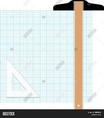 Graph Paper Drawing Vector Photo Free Trial Bigstock