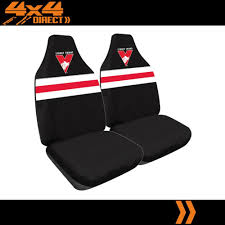 details about sydney swans official afl licensed seat covers airbag compatible
