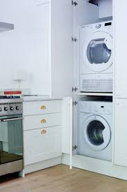 Washer And Dryer In Kitchen 17 Best Images About Laundry Room Ideas On Pinterest Washers
