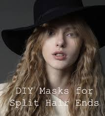 7 diy hair masks for split hair ends