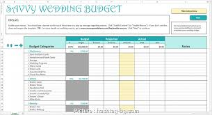 6 Professional Wedding Planning Excel Spreadsheet Template