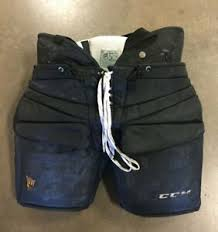 Ccm Goalie Pants Sizing Chart Details About Arizona State Sun Devils Joey Daccord Game Worn Ccm Goalie Pants 35 Size Xl