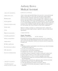 Medical Assistant Resumes Medical Resume Templates Free Medical ...