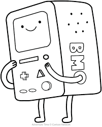 Coloring Pages Computer Flame Princess Coloring Pages Adventure Time