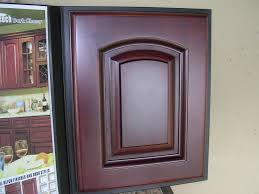 Kitchen Cabinet Catalogue Dark Cherry Color Arched Door Kitchen Cabinets Catalog
