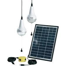 sundaya ulitium kit 2 6w solar lighting kit