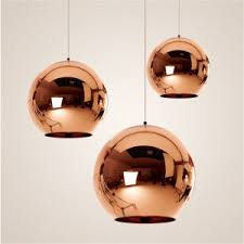 glass ball pendant lighting. Tom Dixon Modern Mirror Glass Ball Pendant Lights Restaurant Copper Chrome  Globle Lamps Hanging Light Glass Ball Pendant Lighting